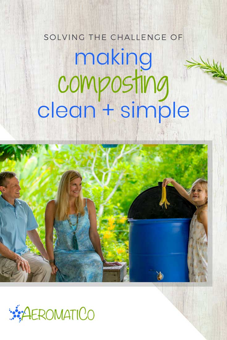 For Immediate Release: AeromatiCo Solves the Challenge of Making Compost Clean and Simple