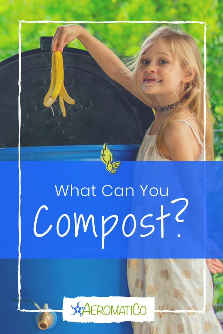 What can you compost in your compost bin? For most composting methods, the best way to create a healthy bin is by maintaining the correct ratio of green to brown ingredients. Our recommendation is to aim for a 50/50 or even a 60/40* mix of green and brown material. The AeromatiCo composter makes this super easy for you!